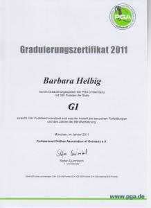 20011 Graduierung G1