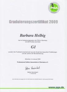 2009 Graduierung G1