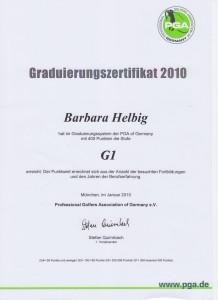 2010 Graduierung G1