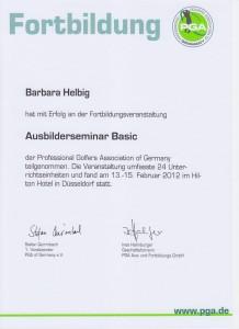 2012 Ausbilderbefähigung Basic