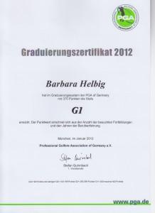 2012 Graduierung G1